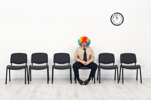 Last man standing - waiting concept
