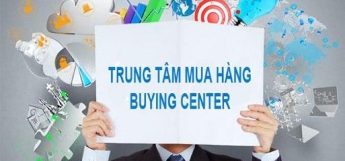 """Tiếp thị với khái niệm """"trung tâm mua hàng"""""""