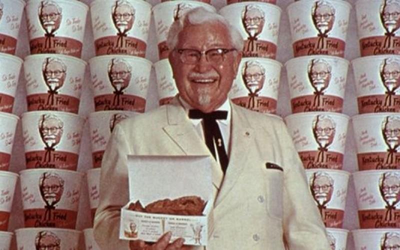 Vua KFC: 'Không bao giờ nằm trên giường lo lắng'