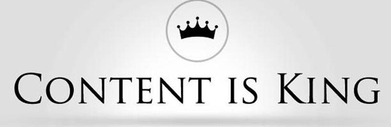 contents is king